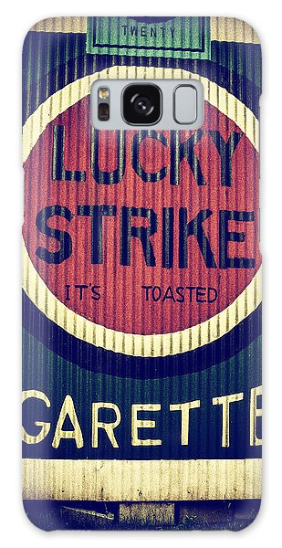 Old Time Cigarettes Galaxy Case