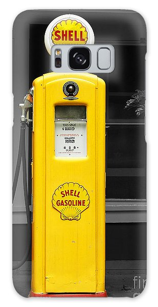 Old Time Gas Pump Galaxy Case