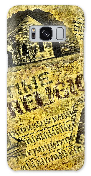 Old Time Religion Galaxy Case by Pattie Calfy