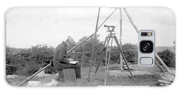 Old Time Surveyor Galaxy Case