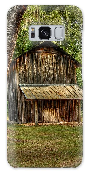 Old Tobacco Barn Galaxy Case