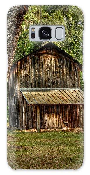Old Tobacco Barn Galaxy Case