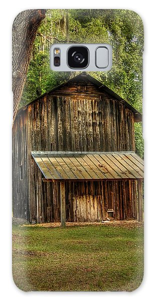 Old Tobacco Barn Galaxy Case by Donald Williams