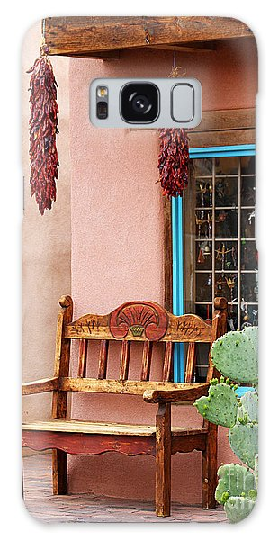 Old Town Albuquerque Shop Window Galaxy Case