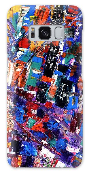 Old Town Galaxy Case by Helen Kagan