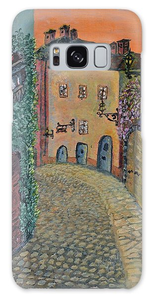Old Town In Piedmont Galaxy Case by Felicia Tica