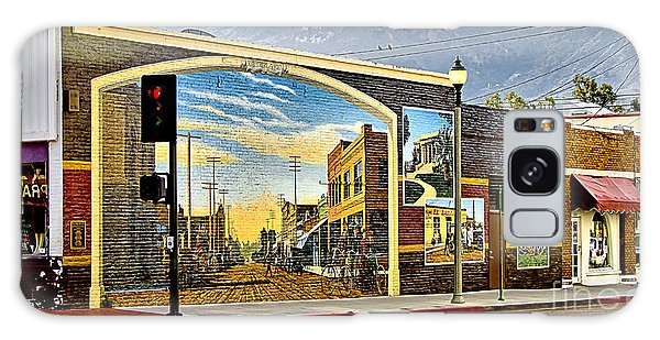 Old Town Mural Galaxy Case by Jason Abando