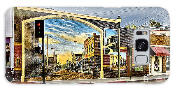 Old Town Mural Galaxy Case