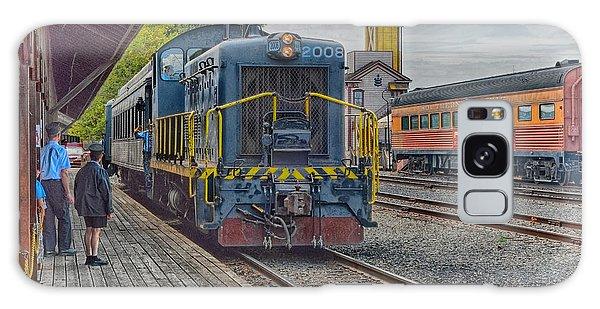 Old Town Sacramento Railroad Galaxy Case by Jim Thompson