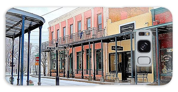 Conyers Galaxy Case - Old Towne Center Street by James Potts