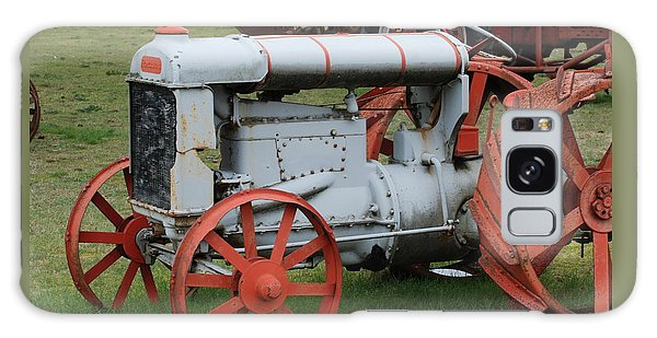 Old Tractor Galaxy Case