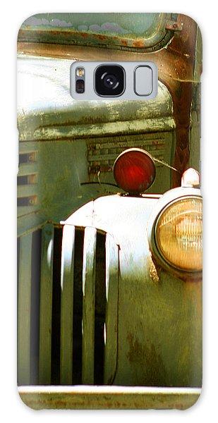 Old Truck Abstract Galaxy Case
