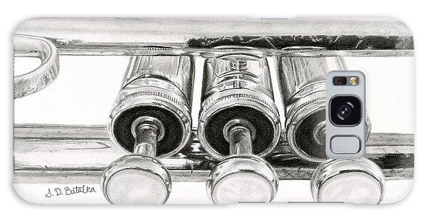 Trumpet Galaxy S8 Case - Old Trumpet Valves by Sarah Batalka