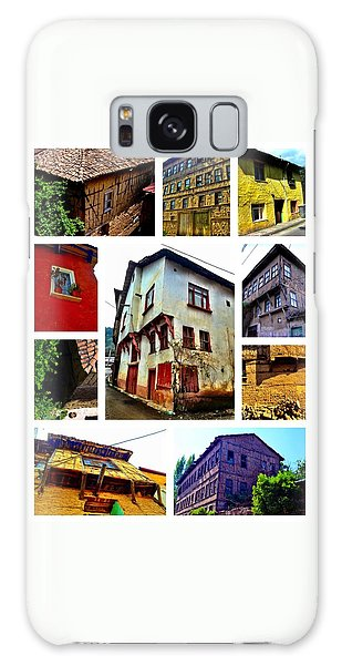 Old Turkish Houses Galaxy Case