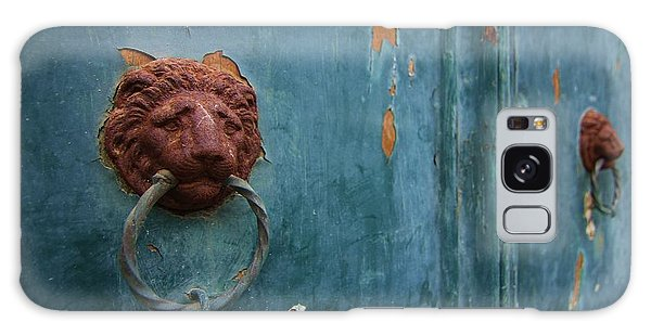 Old Venetian Door Knocker Galaxy Case