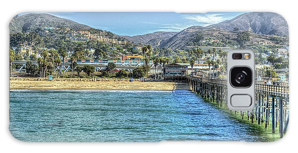 Old Ventura City From The Pier Galaxy Case