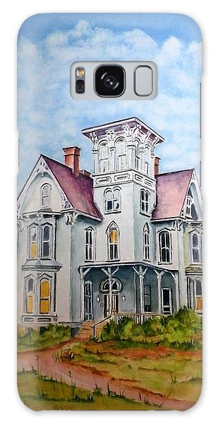 Old Victorian House Galaxy Case