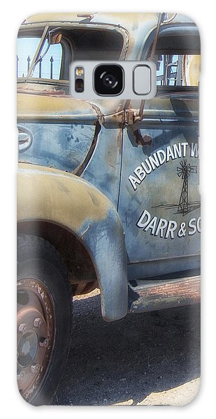 Old Water Truck Galaxy Case