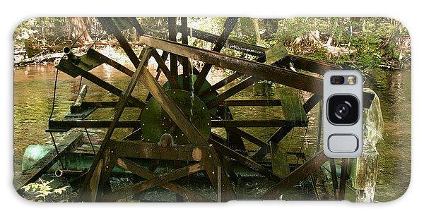 Old Waterwheel Galaxy Case