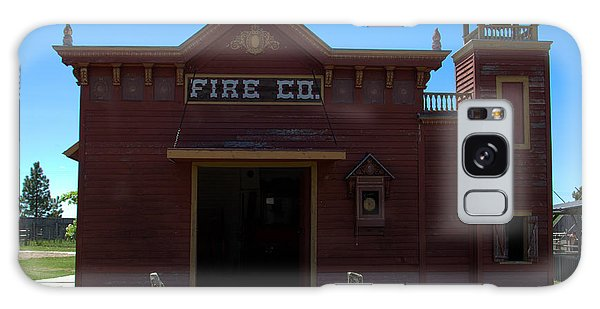 Old West Fire Station Galaxy Case
