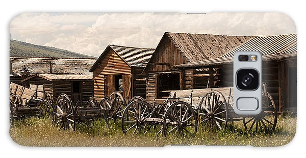 Old West Wyoming  Galaxy Case