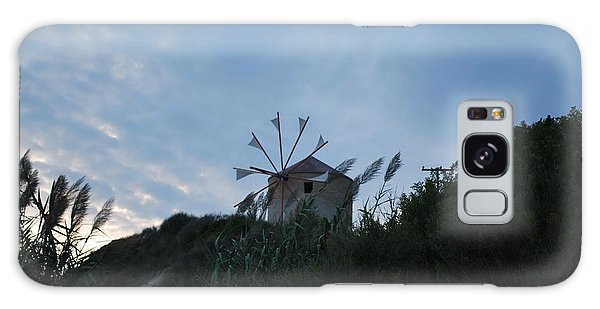 Old Wind Mill 1830 Galaxy Case by George Katechis