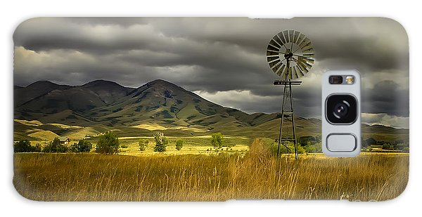 Old Windmill Galaxy Case