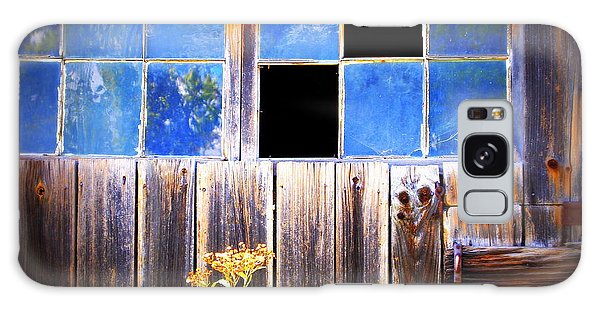 Old Wooden Building Of Broken Dreams Galaxy Case