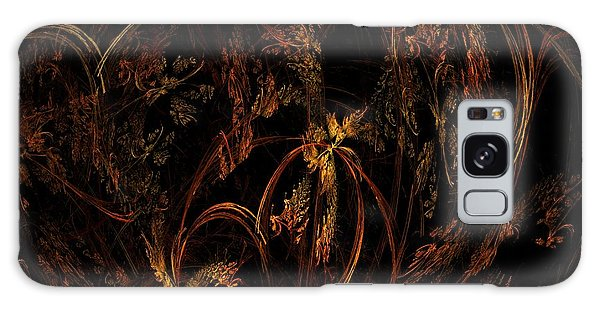 Old World Floral Galaxy Case by Linda Whiteside