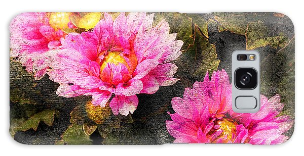 Old World Flowers Galaxy Case