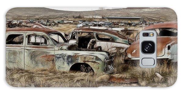 Old Wrecks Galaxy Case