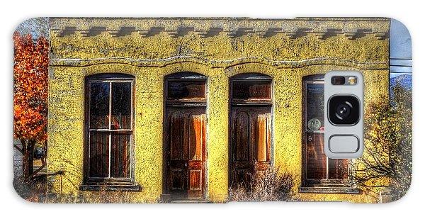Old Yellow House In Buena Vista Galaxy Case by Lanita Williams