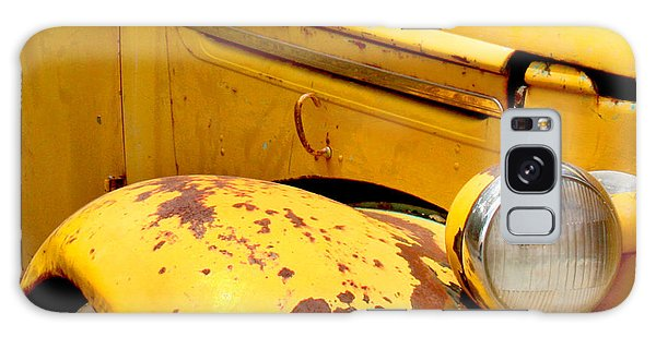 Transportation Galaxy Case - Old Yellow Truck by Art Block Collections
