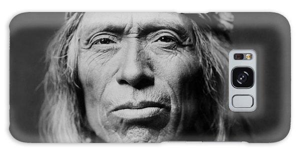 Portraits Galaxy S8 Case - Old Zuni Man Circa 1903 by Aged Pixel