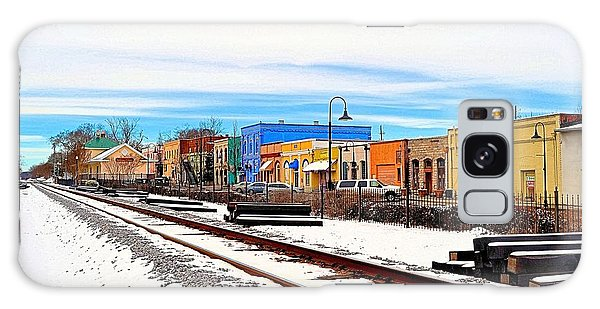 Conyers Galaxy Case - Olde Town In Snow by James Potts