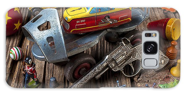 Older Roller Skate And Toys Galaxy Case by Garry Gay