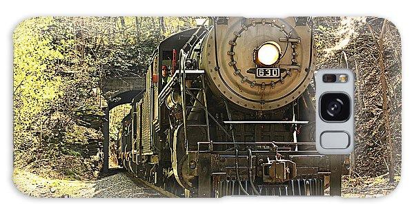 Ole' #630 Steam Train Galaxy Case by Tammy Schneider