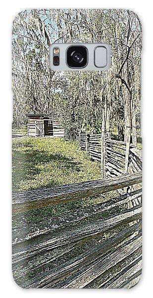 Ole Horse Barn Galaxy Case