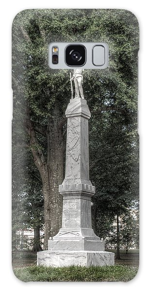 Ole Miss Confederate Statue Galaxy Case