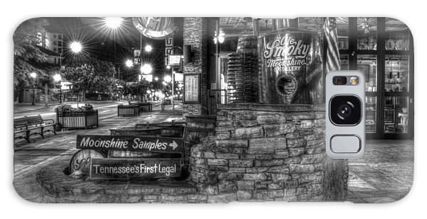 Ole Smoky Tennessee Moonshine In Black And White Galaxy Case