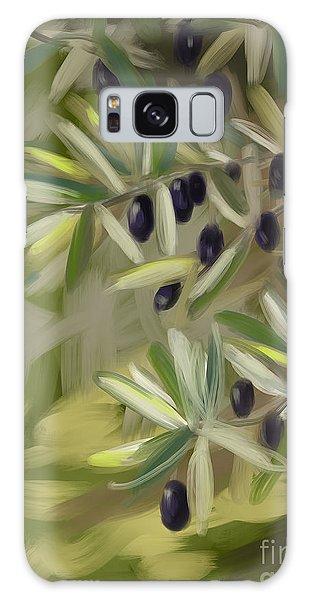 Olive Tree Galaxy Case by Go Van Kampen