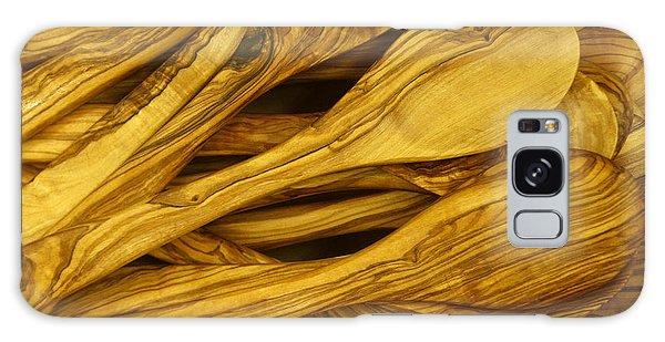 Olive Wood Galaxy Case