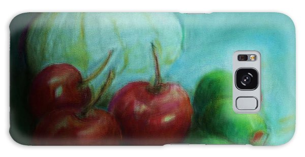 Olives And Cherries With Onion Galaxy Case by Jean Cormier