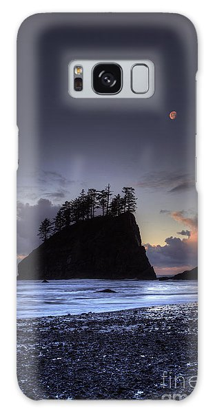 Olympic National Park Galaxy Case - Olympic Nationals Moon Stacks by Marco Crupi