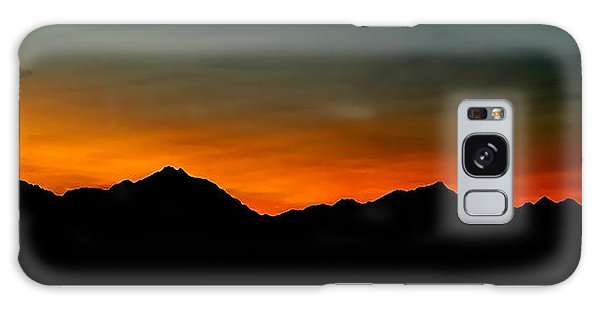 Olympic Sunset Galaxy Case by John Bushnell