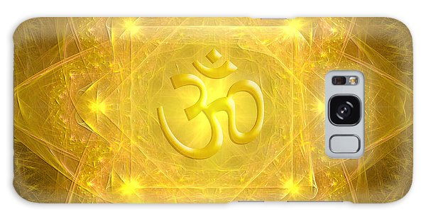 Om Mandala Galaxy Case