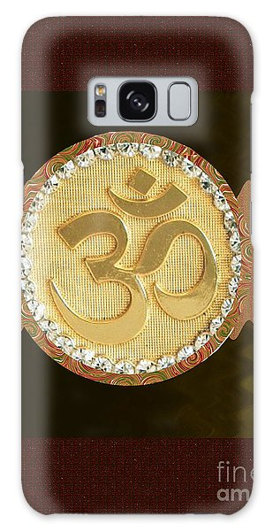 Om Mantra Ommantra Hinduism Symbol Sound Chant Religion Religious Genesis Temple Veda Gita Tantra Ya Galaxy Case