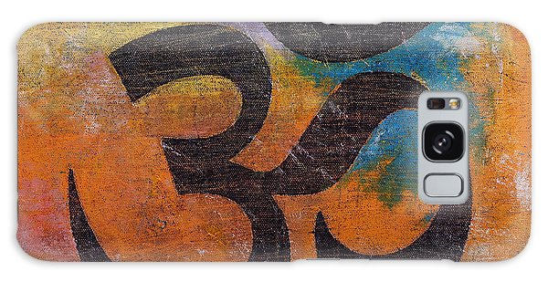 Symbolism Galaxy Case - Om by Michael Creese
