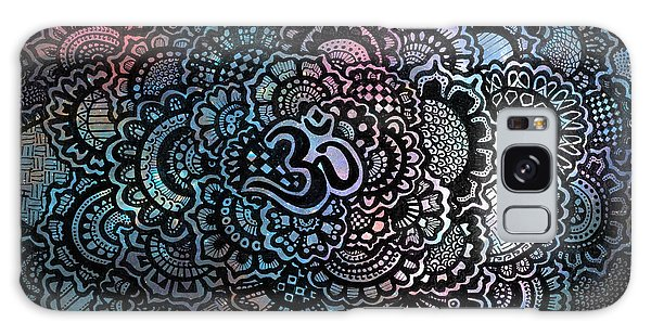 Decorative Galaxy Case - Om Sweet Om by Andrea Stephenson