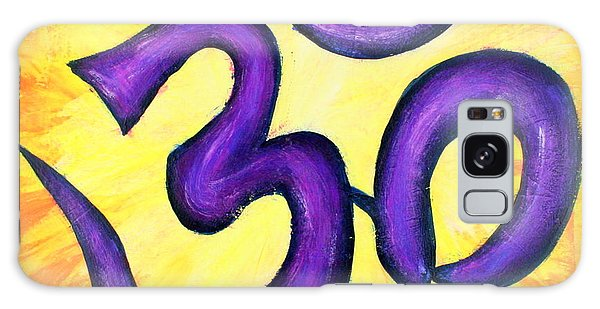 Om Symbol Art Painting Galaxy Case